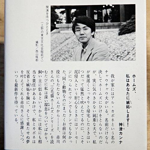赤川次郎『三毛猫ホームズの騎士道』