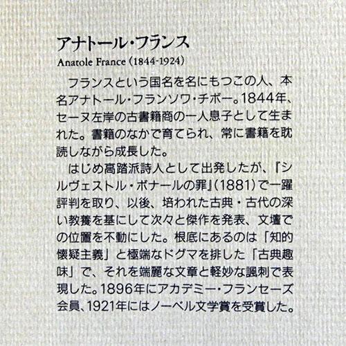アナトール・フランス小説集12『やせ猫』