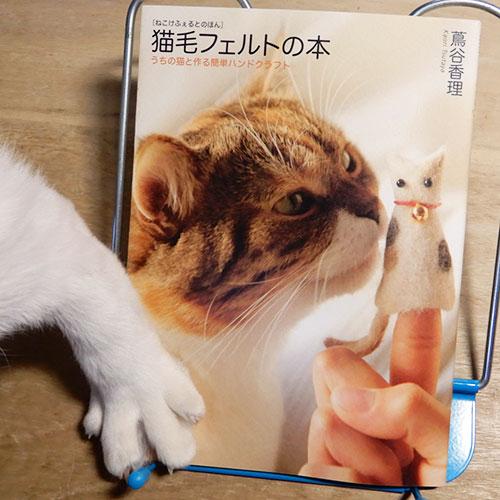 蔦谷香理『猫毛フェルトの本』