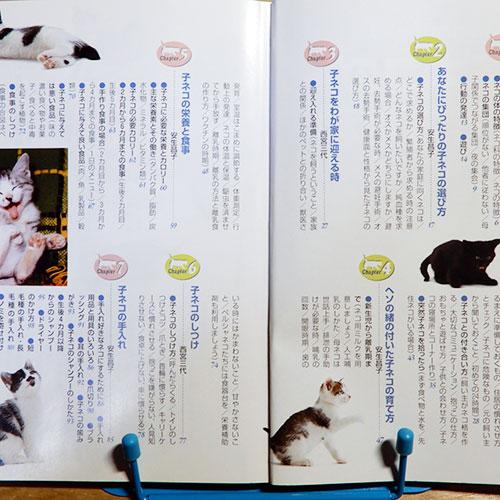 ネコ百科シリーズ『子ネコの育て方百科』