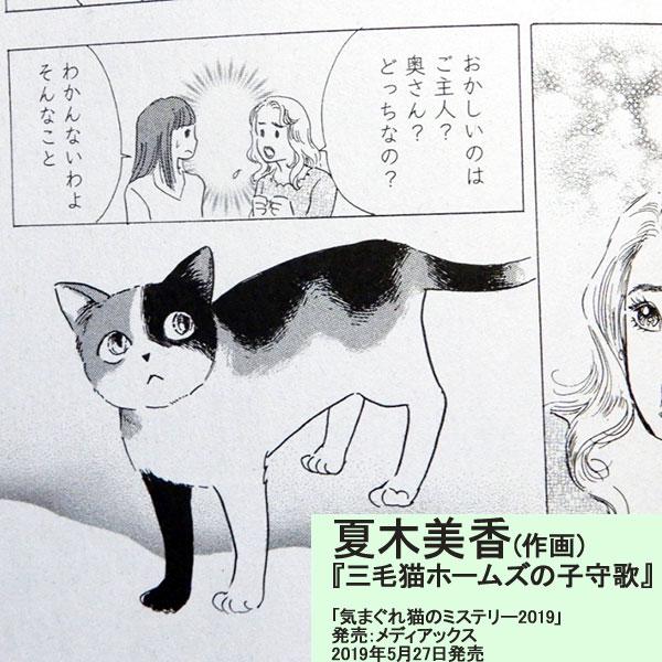 原作:赤川次郎『三毛猫ホームズの子守歌』