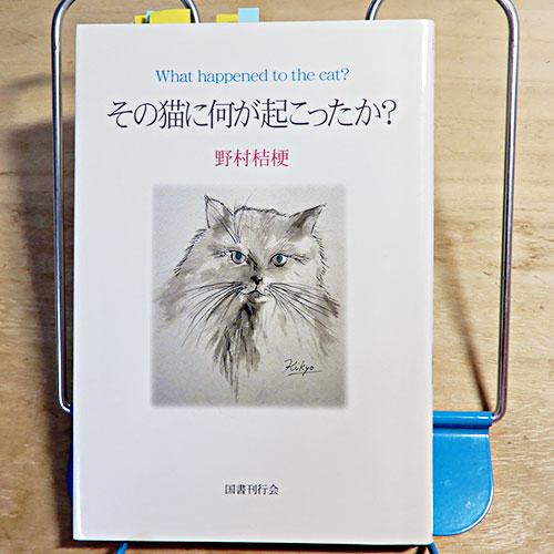 野村桔梗『その猫に何が起こったか?』