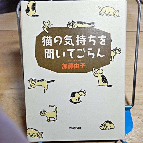 加藤由子『猫の気持ちを聞いてごらん』
