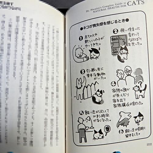 ピトケアン『ネコのライフスタイル』