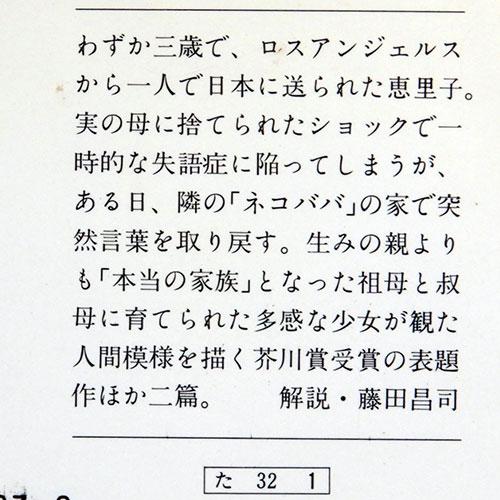 瀧澤美恵子『ネコババのいる町で』