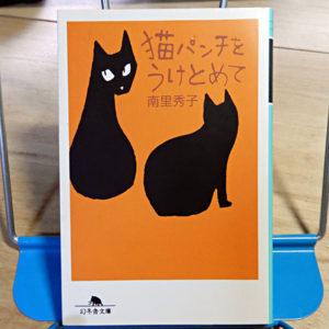 南里秀子『猫パンチをうけとめて』