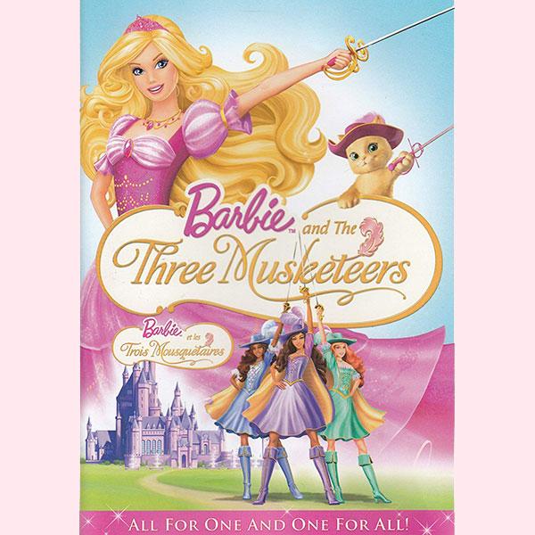 映画『Barbie and the Three Musketeers(バービーと三銃士)』